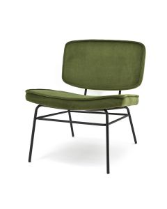 Lounge chair Vice - olive