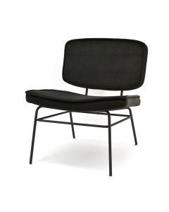 Lounge chair Vice - black