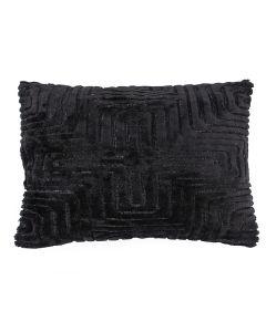 Pillow Madam 35x55 cm - black