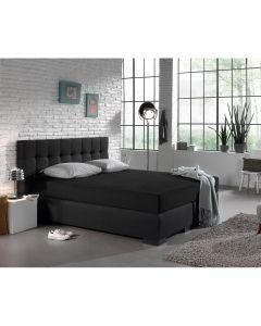 Dreamhouse - Jersey - Zwart - 160/180 x 200