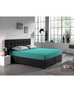 Dreamhouse - Jersey - Turquoise - 80/90/100 x 200/220