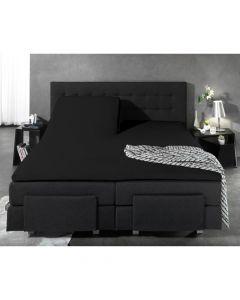 Homecare - Jersey - Zwart - 180 x 200
