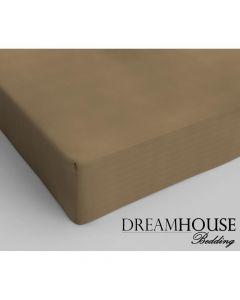 Dreamhouse - Katoen - Taupe - 80 x 200