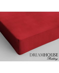 Dreamhouse - Katoen - Rood - 120 x 200