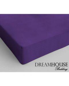Dreamhouse - Katoen - Paars - 120 x 200