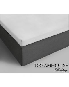 Dreamhouse - Katoen - Wit - 90 x 220