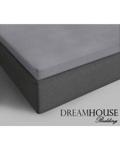 Dreamhouse - Katoen - Grijs - 90 x 200
