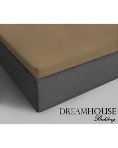 Dreamhouse - Katoen - Taupe - 90 x 200