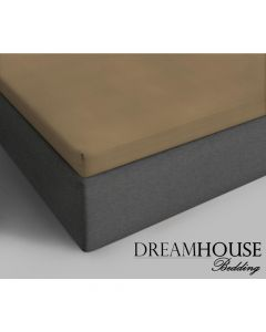 Dreamhouse - Katoen - Taupe - 160 x 200
