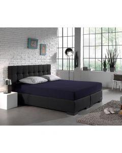 Dreamhouse - Jersey - Donker Blauw - 80/90/100 x 200/220