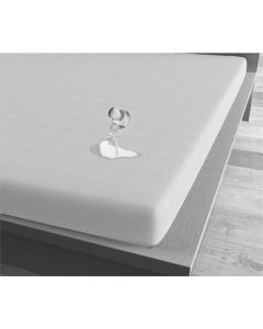 Homecare - Jersey - Wit - 120 x 200