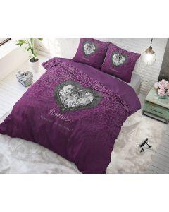 Sleeptime - Katoen Blended - Paars - 140 x 220 cm