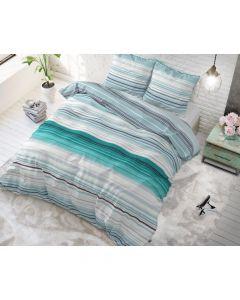 Sleeptime - Katoen Blended - Turquoise - 200 x 220