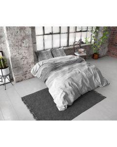 Dreamhouse - Katoen / Satijn - Grijs - 135 x 200