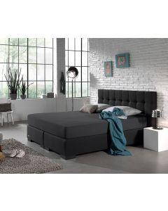 Homecare - Jersey - Antraciet - 160/180 x 200