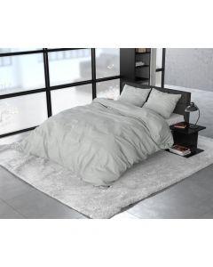 Sleeptime - Flanel - Grijs - 200 x 220