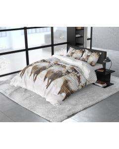 Sleeptime - Flanel - Grijs - 140 x 220 cm