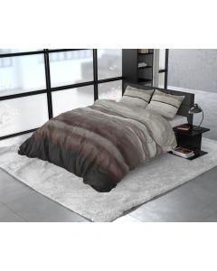 Sleeptime - Flanel - Taupe - 135 x 200