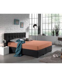 Dreamhouse - Jersey - Pastel Oranje - 140 x 200/220
