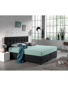 Dreamhouse - Jersey - Pastel Blauw - 140 x 200/220