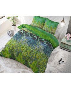 Sleeptime - Katoen Blended - Groen - 140 x 220 cm