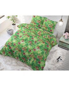 Sleeptime - Katoen Blended - Groen - 200 x 220