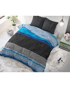 Sleeptime - Katoen Blended - Blauw - 200 x 220