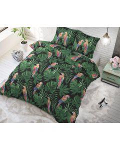 Sleeptime - Katoen Blended - Groen - 135 x 200