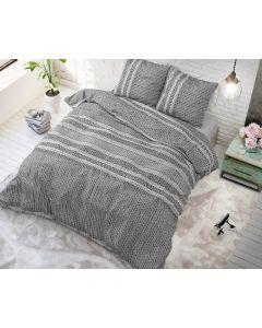 Sleeptime - Katoen Blended - Antraciet - 140 x 220 cm