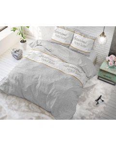 Sleeptime - Katoen Blended - Grijs - 200 x 220