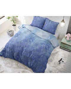 Sleeptime - Katoen Blended - Blauw - 140 x 220 cm