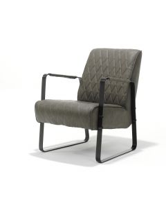 Fauteuil Roxy Stof Vintage Taupe