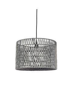 LABEL51 Hanglamp Stripe - Grijs - Katoen