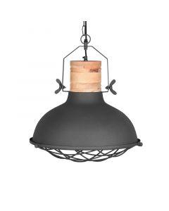 LABEL51 Hanglamp Grid - Antiek grijs - Metaal