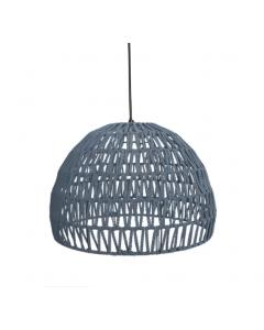 LABEL51 Hanglamp Rope - Grijs - Stof - L